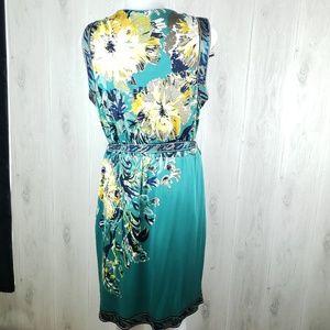 Elie Tahari Dresses - Elie Tahari Size XL Heidi Silk Jersey Print Dress